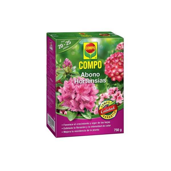 imagen abono hortensias 750 g Compo