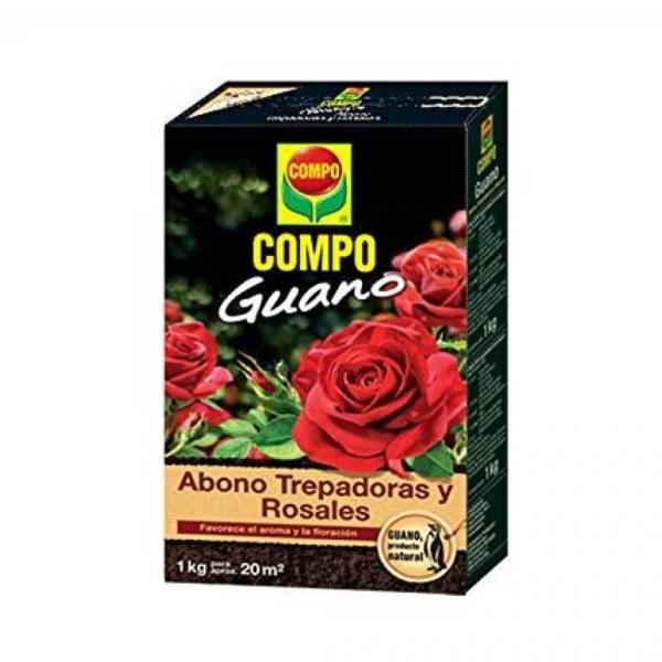 imagen Abono Guano Trepadoras y Rosales 1 kg Compo