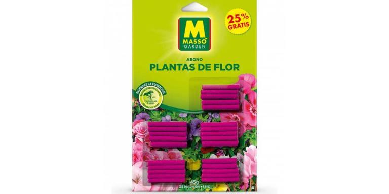 imagen bastoncitos fertilizantes plantas flor massó garden