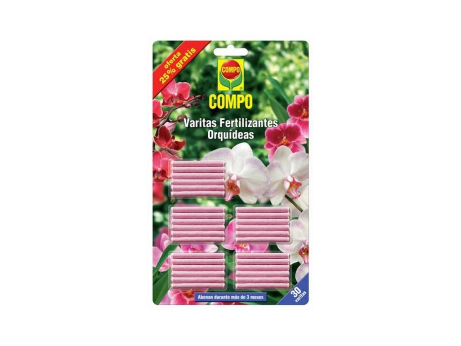 imagen varitas fertilizantes orquídeas compo 25% gratis