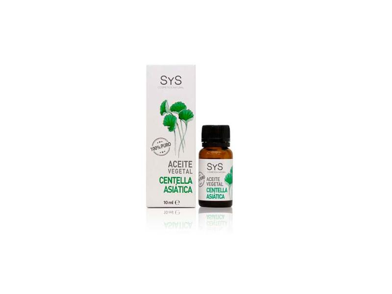 Aceite Vegetal Centella Asiática 10ml SyS