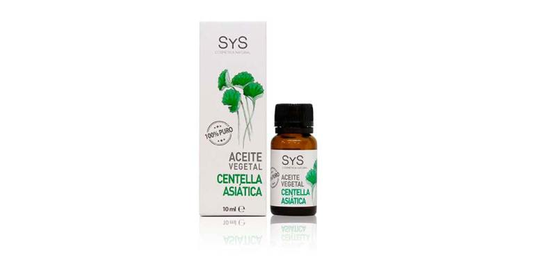 Aceite Vegetal Centella Asiática 10ml SyS