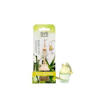 Ambientador Coche Aloe-Bambú 7ml  SyS