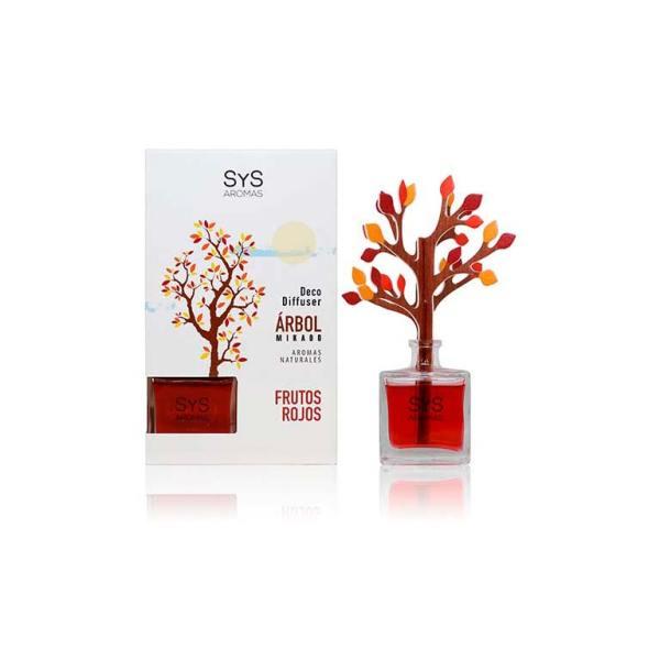 Ambientador Difusor Arbol Frutos Rojos 90ml SyS