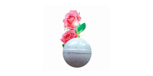 Bomba Baño Rosas con Pétalos 140g SyS
