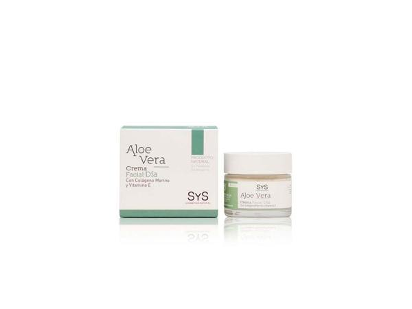 Crema Facial Aloe Vera 50ml SyS