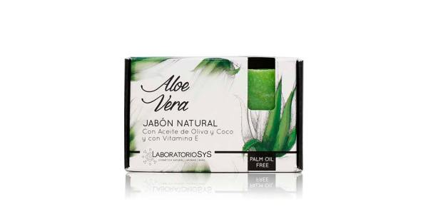 Jabón Natural Premium Aloe Vera 100g SyS