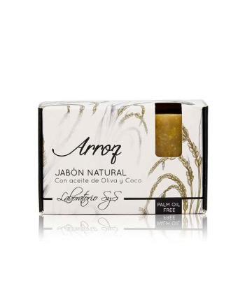 Jabón Natural Premium Arroz 100g SyS