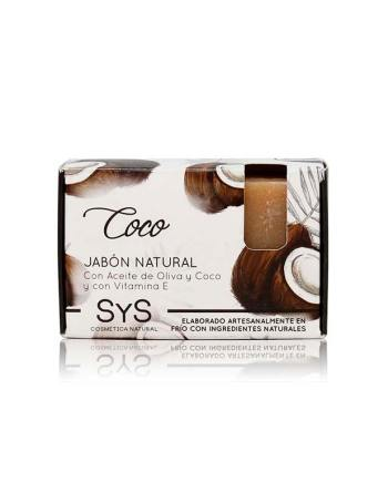 Jabón Natural Premium Coco 100g SyS