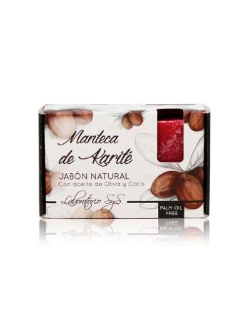 Jabón Natural Premium Manteca Karite 100g SyS