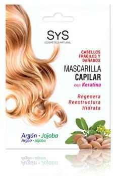 Mascarilla Capilar Argán y Jojoba 20ml SyS