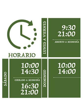 horario apertura oasis garden
