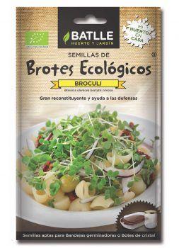 Semillas Brotes Brócoli ECO Batlle