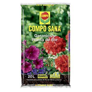 Compo Sana Geranios y Planta de Flor 20 L
