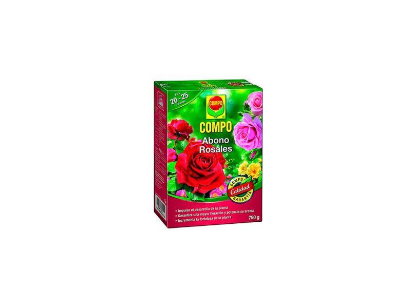 Abono rosales 750 g compo