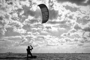 Kiten in Tunesien mit Eleveight Kite