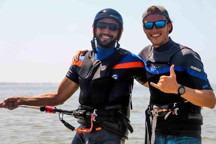 Kiten lernen auf Djerba