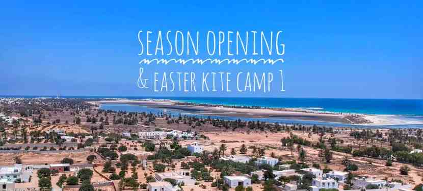 Season Opening & Easter Kite Camp 1 // 10.04. – 17.04.2020