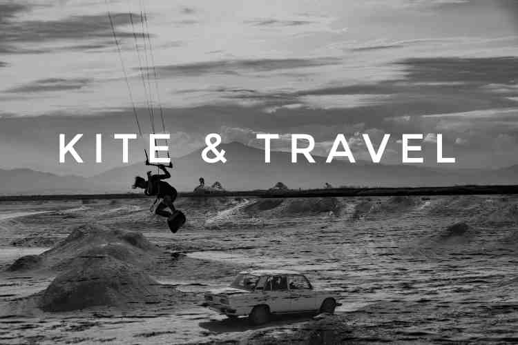 Oasis Kite // Kite & Travel