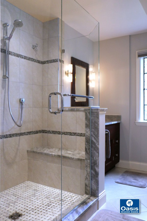 Frameless Shower Enclosers - Oasis Specialty Glass