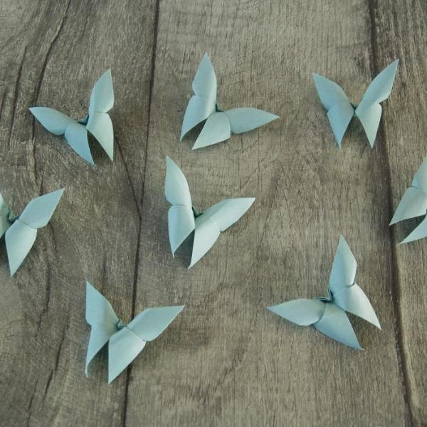Origami-Butterfly-Wedding-Party-Table-Scatters-Confetti-Handmade-Baby-Blue-Oast-House-Gifts