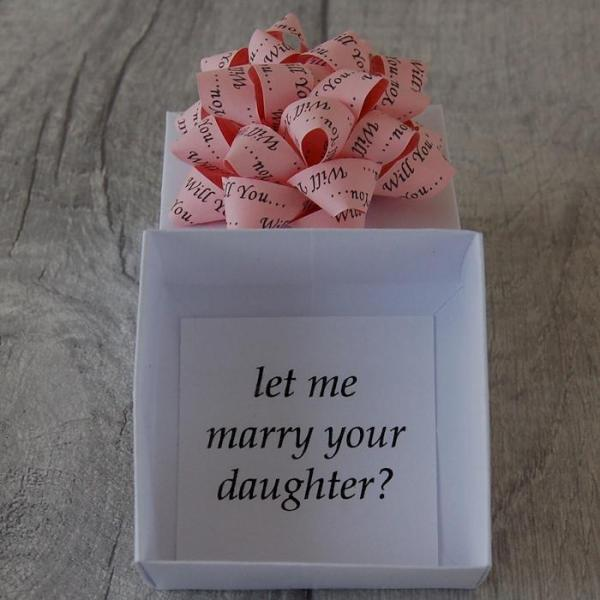 Will-You-Let-Me-Marry-Your-Daughter-Black-Personalised-Gift-Box-Handmade-Origami-Boxes-Oast-House-Gifts