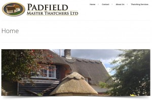 Padfield Thatchers website