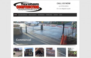 Teynham Construction new website