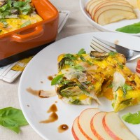 Fall Vegetable Egg Casserole