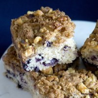 Favorite Blueberry Coffee Cake