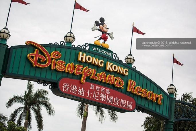 """Welcome to HK Disneyland"""