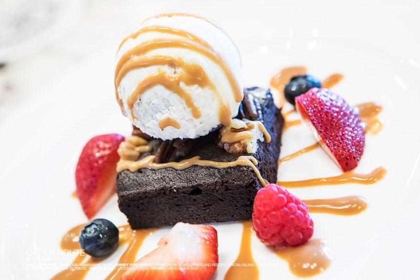 Brownie, Homemade Gelato ~ HK$ 68