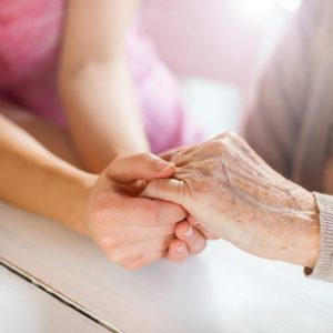 Spiritual care - Holding hands