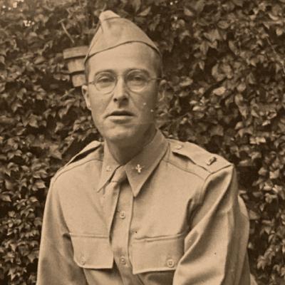 Morton Eustis in WWII uniform