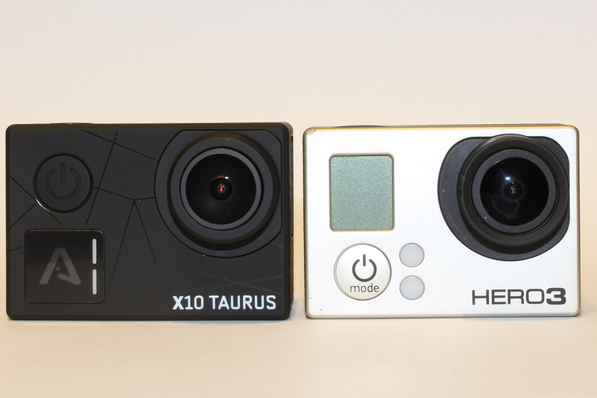Lamax X10 Taurus vs GoPro Hero 3 Black