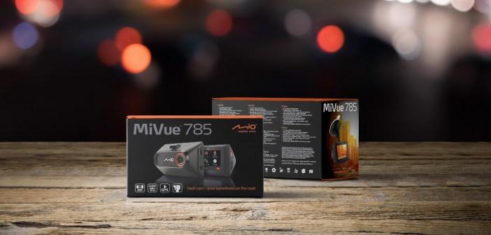 Mio przedstawia nowy wideorejestrator dla wymagających kierowców – MiVue 785