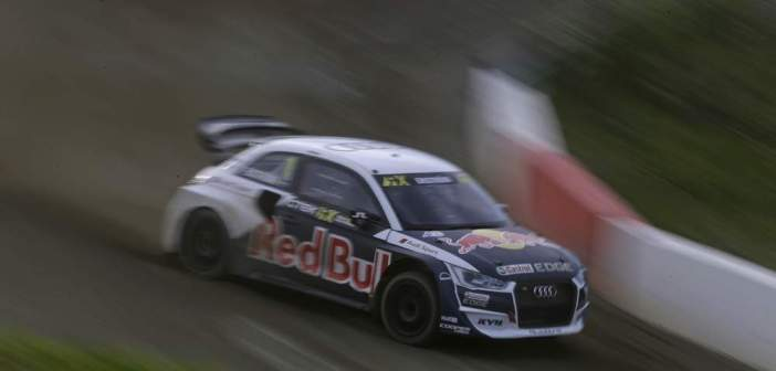 Cztery Audi S1 EKS RX quattro w kolejnej rundzie Mistrzostw Świata w Rallycrossie