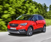 Opel Crossland X otrzymuje pięć gwiazdek Euro NCAP