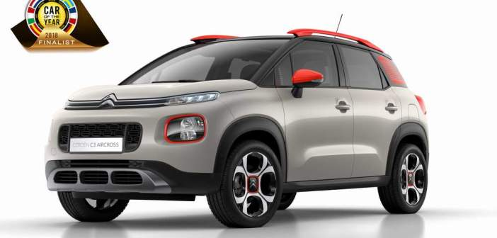 Nowy kompaktowy SUV – Citroen C3 Aircross w finale Car of the Year 2018