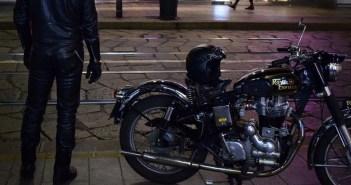 Ciął blokadę przy motocyklu. Obserwującym go policjantom wyjaśnił: podobał mi się od dawna