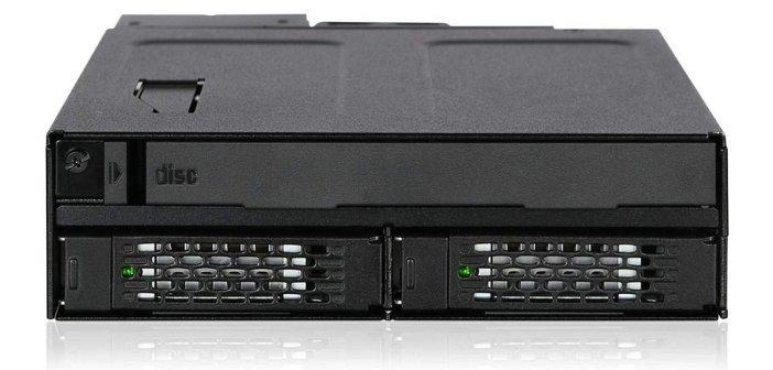 Icy Dock MB602SPO-B – płyty i dyski w jednym