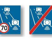 Nowy znak – odcinkowy pomiar prędkości – już niedługo na polskich drogach
