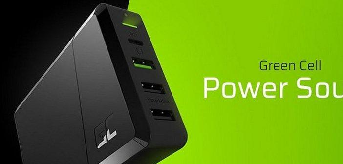 Green Cell Power Source – jedna ładowarka zamiast kilku do laptopa, smartfona i innych urządzeń