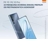 Xiaomi – 24-miesięczna ochrona ekranu serii Mi 10