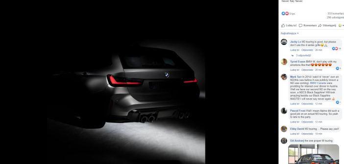 BMW M3 Touring – być może niedługo stanie się rzeczywistością