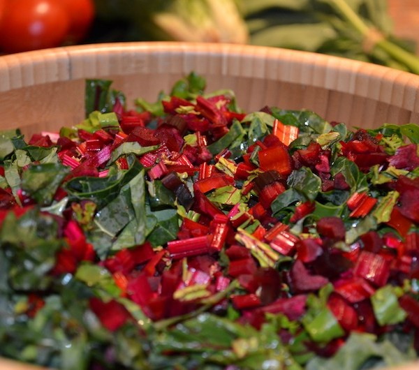 Beautiful Beet Salad with Cherry Tomato Dressing