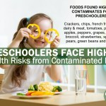 Pre-Schoolers Face Higher Health Risks from Contaminants in Food