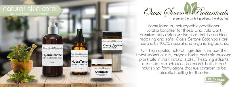 Oasis Serene Botanicals Skincare