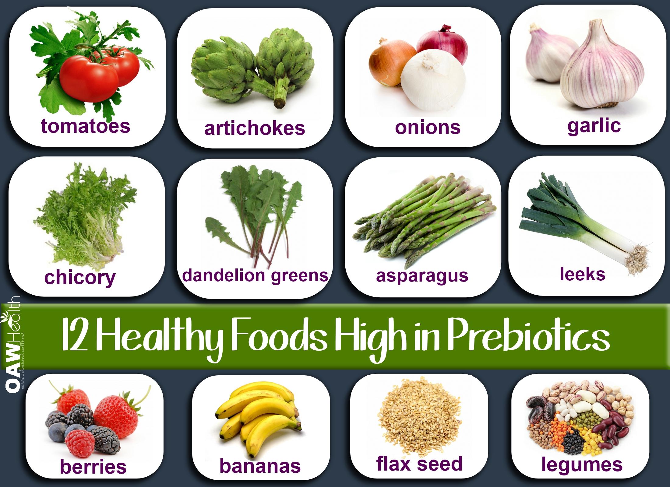 12 Healthy Foods High in Prebiotics