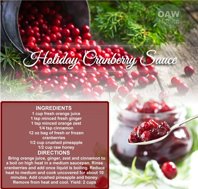 Holiday Cranberry Sauce Recipe